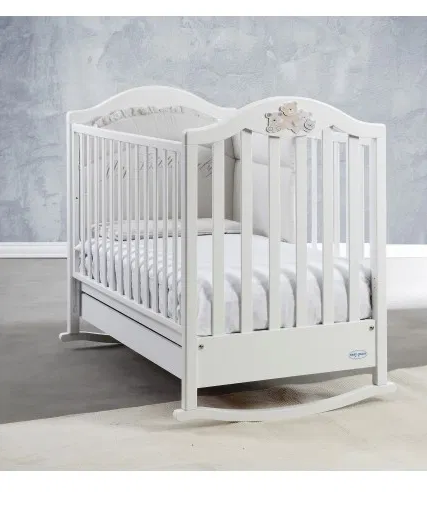 Saltea pentru bebelusi Editia Lux cu Fibra Cocos si Latex 120x60x11 cm, Husa Bumbac, Lavabila, Antialergica, Alb [8]