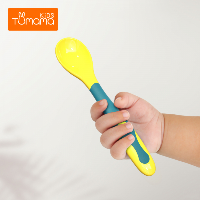 Set 2 tacamuri pentru bebelusi, fara BPA, din silicon, +6 luni, Tumama®, multicolor [4]