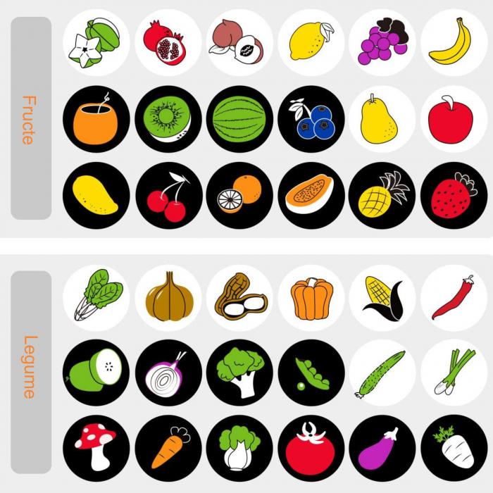 Set 4 Carti Fosnitoare, Educationale, pentru dentitia bebelusilor, Ilustratii Animale, Fructe, Legume, Animale Marine, + 3 luni, Tumama®, alb/negru [6]