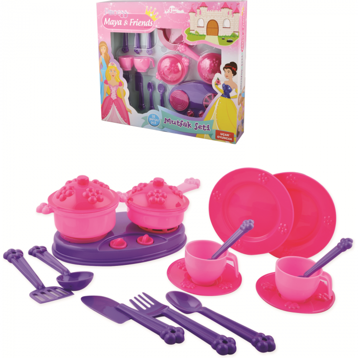 Set bucatarie pentru copii, din plastic 0