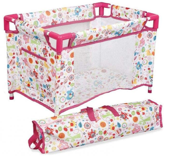 Set copii interactiv cu papusa bebelus si accesorii: tarc, carucior, suport bebe, geanta, covoras, SMARTIC®, multicolor 1