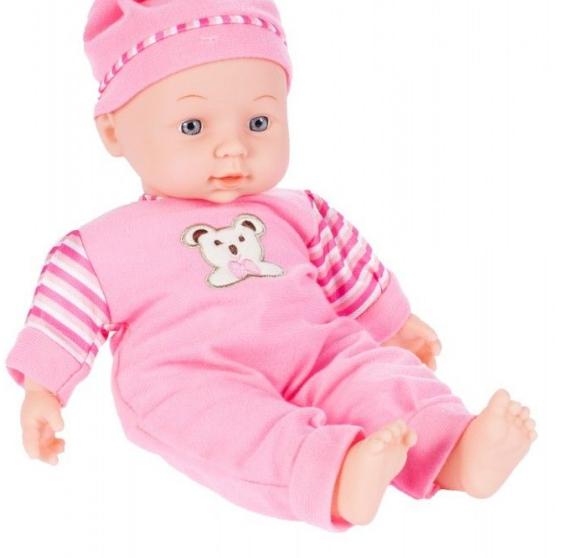 Set copii interactiv cu papusa bebelus si accesorii: tarc, carucior, suport bebe, geanta, covoras, SMARTIC®, multicolor 5