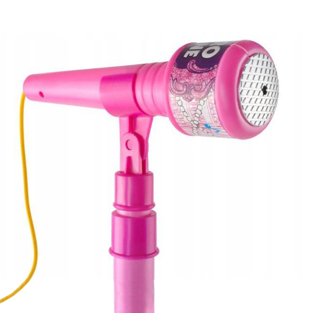 Set interactiv Karaoke, cu microfon, suport si lumini, SMARTIC®, melodii incluse [1]