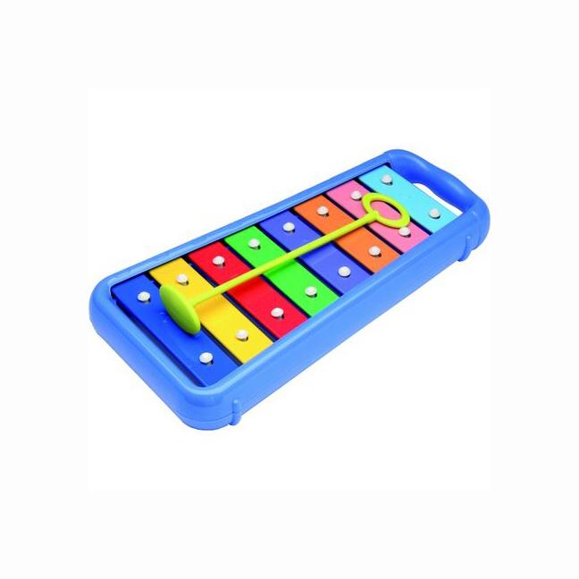 Set Interactiv pentru Bebelusi Instrumente Muzicale, Xilofon + 2 Tamburine, +12 Luni, Multicolor [1]