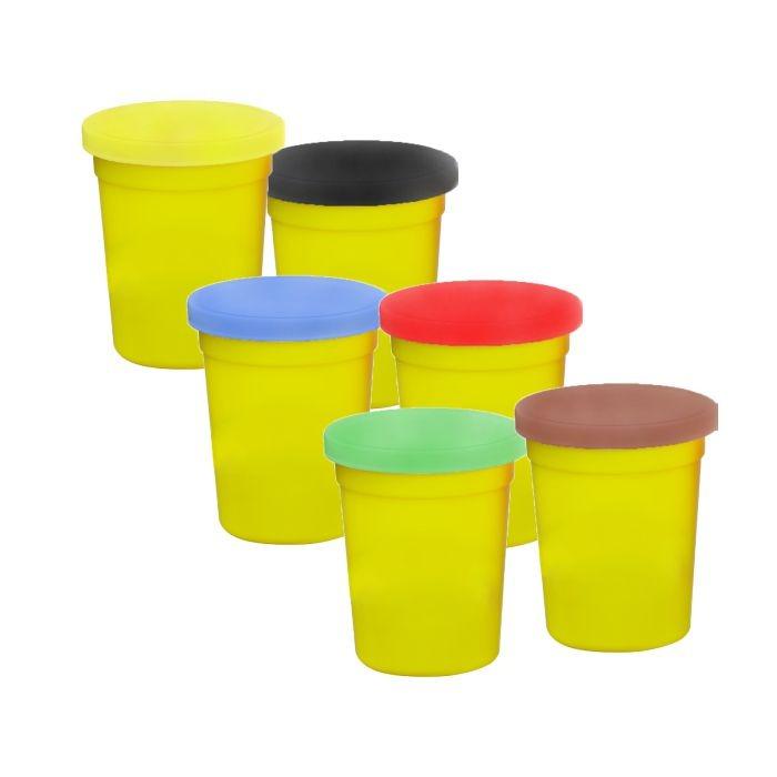 Set plastilina Fetita la coafor, cu accesorii, SMARTIC®, multicolor 0