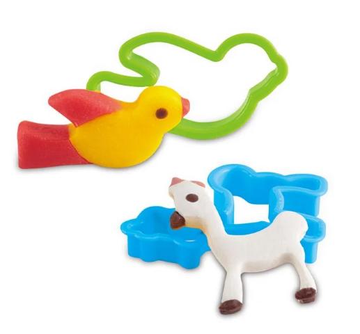 Set plastilina My little animals, SMARTIC®, cu accesorii, multicolor [1]