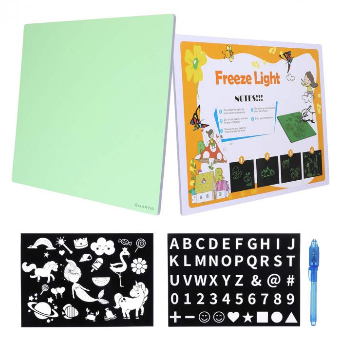 Set tablita de colorat SMARTIC®cu LED, A3 4