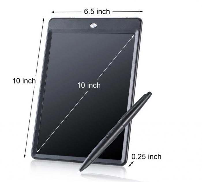 Tableta Grafica Cu Display de 10 inch pentru Scris si Desenat + Creion 4