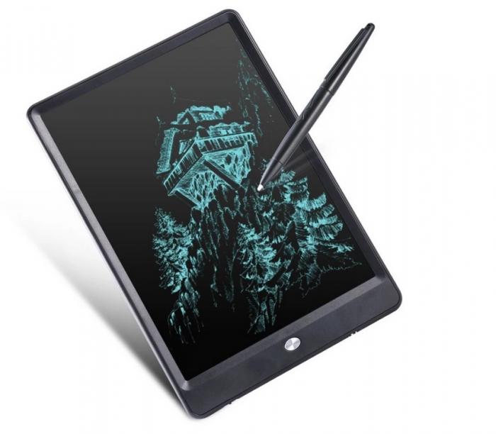 Tableta Grafica Cu Display de 10 inch pentru Scris si Desenat + Creion 3
