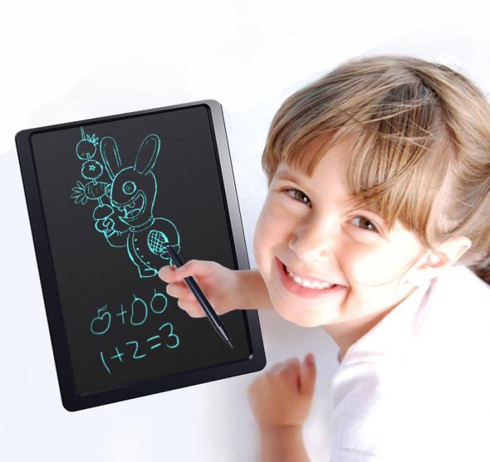 Tableta Grafica Cu Display de 10 inch pentru Scris si Desenat + Creion 0