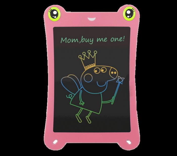 Tableta Grafica pentru Copii, SMARTIC, 8.5 inch, model Broscuta, Roz 0