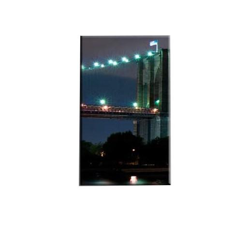 Tablou Nachic Wall,New York Art, View Night, Set 5 piese, 30 x 50 , 30 x 70, 30 x 80 , Material Panza, Tema Natura, Multicolor [1]