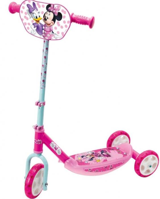 Trotineta copii cu 3 roti, design Minnie Mouse SMARTIC®, roz 0