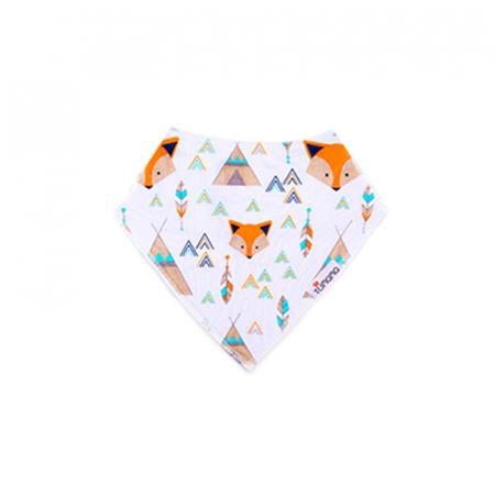 4 seturi 2 in 1 Tumama® bandana si babetica bebelusi, imprimeuri multicolore7