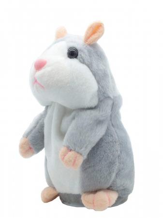 Jucarie Interactiva Copii Hamsterul Vorbitor, Gri0