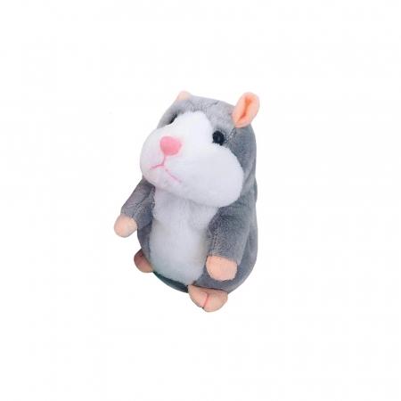 Jucarie Interactiva Copii Hamsterul Vorbitor, Gri1
