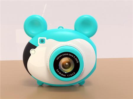Aparat foto pentru copii, Design Mickey Mouse, Display 2 inch, Microfon incorporat, Rezolutie 1080P, Wi-Fi, Functie inregistrare, Muzica, Smartic®, albastru [3]