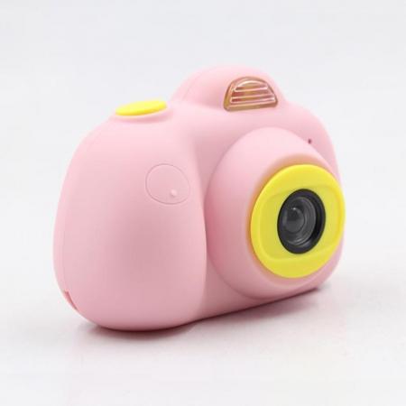 Aparat Foto pentru copii SMARTIC, Compact , Roz, cu functie Selfie, Recunoastere Faciala, Filmare HD4
