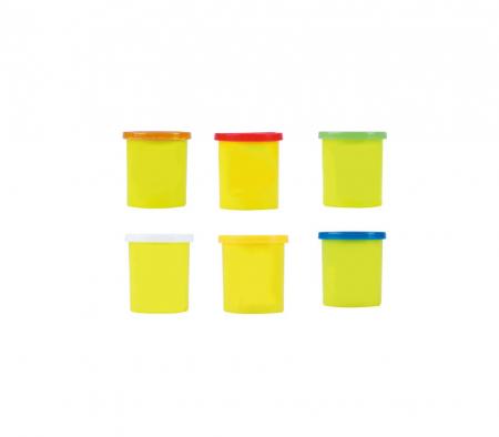 """Aparat inghetata pentru copii """"Fabrica de inghetata"""", 6 recipiente plastilina si accesorii, Smartic®, multicolor4"""
