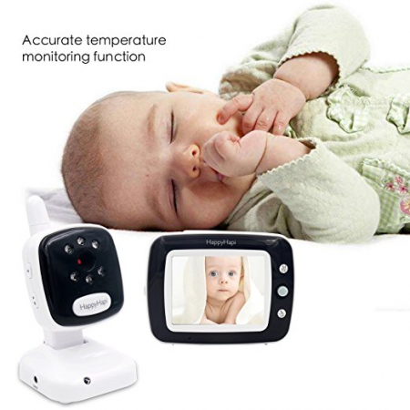 Baby Monitor Smart SI-LiveSmart SM36, model 2018, WI-FI 2,4Ghz, Talk-Back, Activare Vocala, Cantece Leagan incorporate4