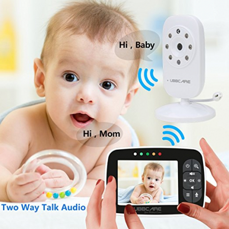 Baby Monitor Smart SI-LiveSmart SM36, model 2018, WI-FI 2,4Ghz, Talk-Back, Activare Vocala, Cantece Leagan incorporate1