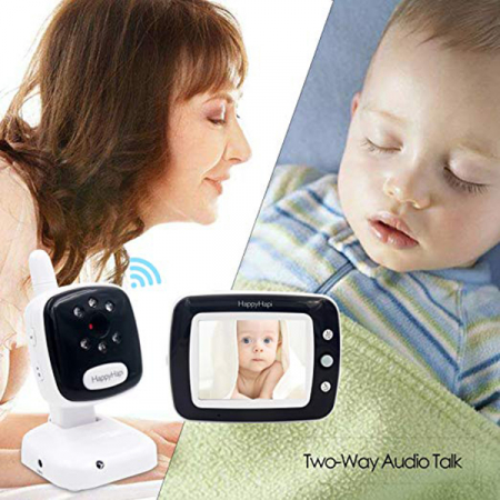 Baby Monitor Smart SI-LiveSmart SM36, model 2019, WI-FI 2,4Ghz, Talk-Back, Activare Vocala, Cantece Leagan incorporate5