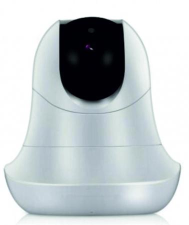 Baby Monitor Smart SI-LiveSmart SM39, WI-FI, Rotire 355⁰ orizontala / 120⁰ verticala, Comunicare bidirectionala, Activare Vocala, Cantece Leagan incorporate, Alb/Negru2