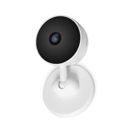 Baby Monitor V1, Rezolutie HD 1920 x 1080P, WiFi, Functia Night Vision, Aplicatie Telefon, Smartic®, alb [3]