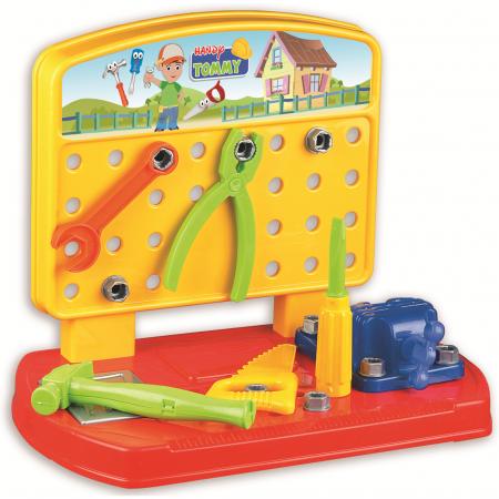 Banc de lucru  copii 28 de piese  Ucar Toys-Handy Tommy [1]