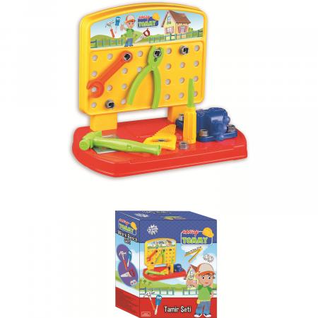 Banc de lucru  copii 28 de piese  Ucar Toys-Handy Tommy [0]