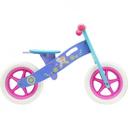 Bicicleta din lemn fara pedale cu manere anti-alunecare,cadru rezistent -Frozen Seven0
