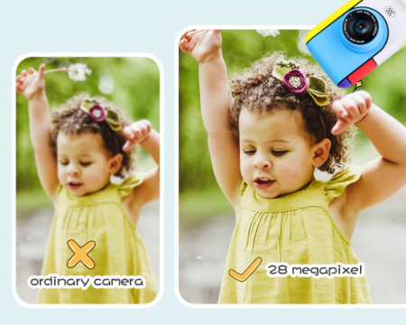 Camera foto/video pentru copii, Display 2 inch, Design Minnie Mouse, Rezolutie 1080P, Jocuri, MP3, Camera Duala, Smartic®, roz [6]