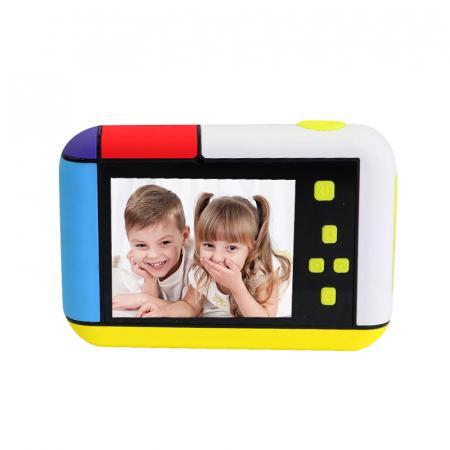 Camera foto/video pentru copii, Display 2 inch, Design Minnie Mouse, Rezolutie 1080P, Jocuri, MP3, Camera Duala, Smartic®, roz [9]