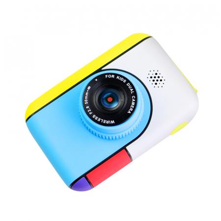 Camera foto/video pentru copii, Display 2 inch, Design Minnie Mouse, Rezolutie 1080P, Jocuri, MP3, Camera Duala, Smartic®, roz [8]
