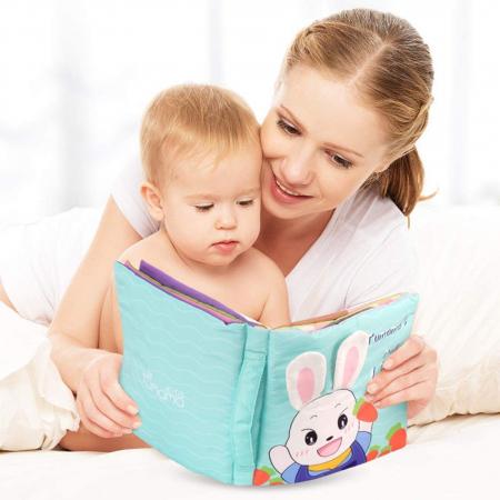 Carticica fosnitoare senzoriala Daily Life Tumama®, pentru dentitia copiilor si a bebelusilor2