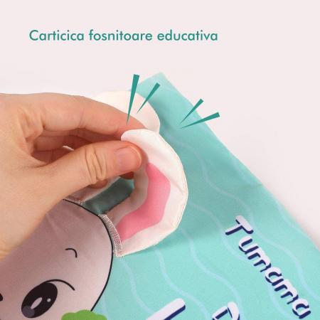 Carticica fosnitoare senzoriala Daily Life Tumama®, pentru dentitia copiilor si a bebelusilor [4]