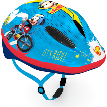 Casca de protectie pentru copii, cu sistem de reglare ,Mickey Mouse0