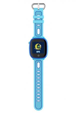 Ceas Smartwatch cu GPS pentru copii, Aplicatie Telefon, Impermeabil, Functie SOS, WiFi, SMARTIC®, Albastru1