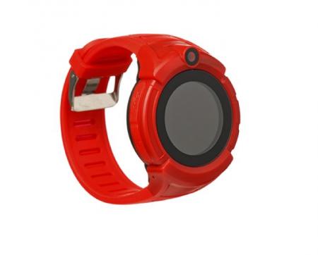 Ceas Smartwatch cu GPS pentru Copii, SMARTIC®, Rosu, Rotund, functie apeluri, localizare GPS, camera foto, zona de siguranta, buton SOS1