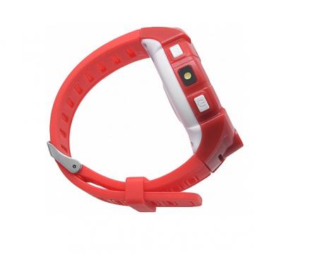 Ceas Smartwatch cu GPS pentru Copii, SMARTIC®, Rosu, Rotund, functie apeluri, localizare GPS, camera foto, zona de siguranta, buton SOS5