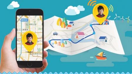 Ceas Smartwatch cu GPS pentru Copii, Smartic, Roz, Dreptunghiular, functie apeluri, localizare GPS, camera foto, zona de siguranta, buton SOS [2]