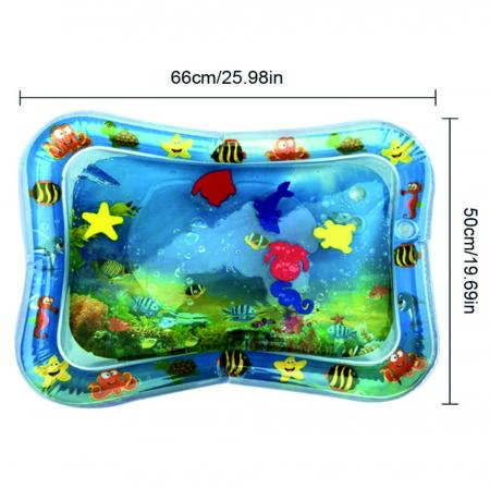 Covoras interactiv SMARTIC KID, jucarie interactiva cu apa, + 3 luni, 66x50cm, Animale Marine1