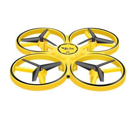 Drona Elicopter Inductie, Control prin gesturi, Rotire 360 grade, Leduri incorporate0