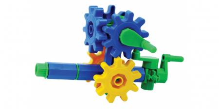 Joc educativ Korbo Quad18 Gandeste, Construieste, Roteste, de construit pentru copii2