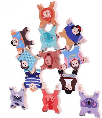 Joc intercativ cu figurine, 12 piese, Varsta +3 ani, Tumama®, multicolor [0]