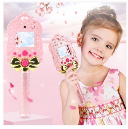 Jucarie aparat foto pentru copii Magic Mirror, Display 2.0 inch, Camera 5 MP, Functie Foto/Video, Focalizare Automata, Smartic®, roz1