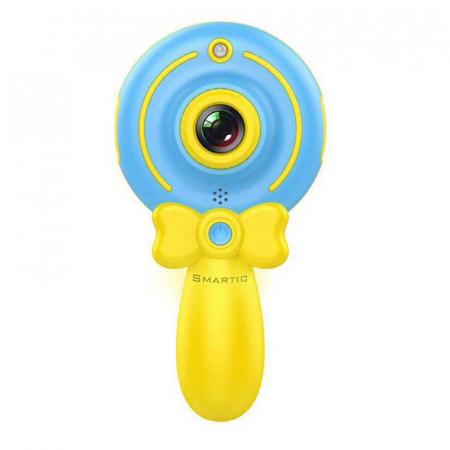 Jucarie aparat foto pentru Copii, SMARTIC®, Magic Mirror, Albastru0