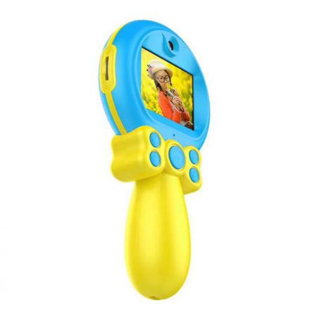 Jucarie aparat foto pentru Copii, SMARTIC®, Magic Mirror, Albastru9