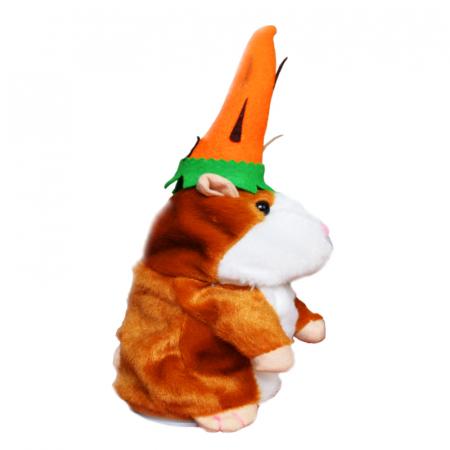 Jucarie Interactiva Copii Hamsterul Vorbitor, Editie de Paste, Maro1