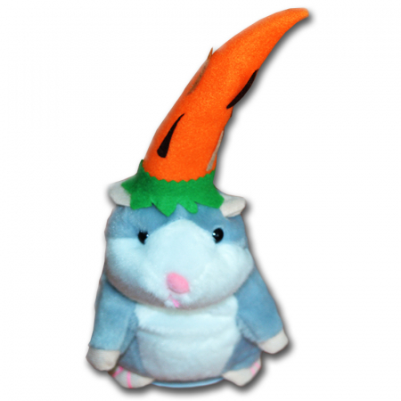 Jucarie Interactiva Copii Hamsterul Vorbitor, Editie de Paste, Gri [2]
